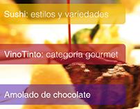 "Revista ""Gourmet"""