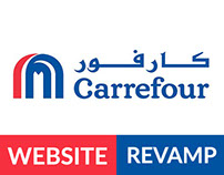 Carrefour UAE website revamp