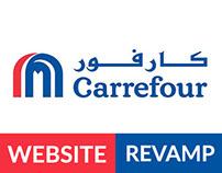Carrefour UAE website revamp
