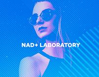 Nad+ Laboratory. Landing page