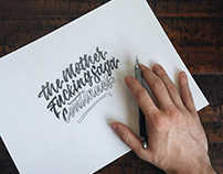 Lettering Collection - 2016