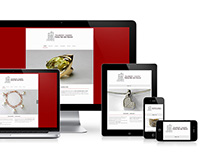 WordPress responsive site Goudsmid - Juwelier