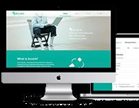 Accare WEB design