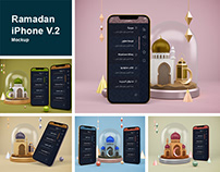 Ramadan iPhone V.2 Mockup