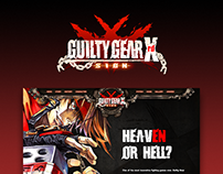 Guilty Gear Xrd - website