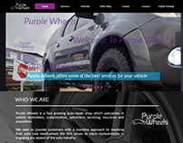 Purple Wheels Web Design
