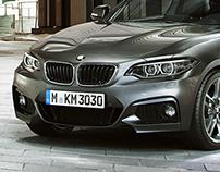 BMW 2 Series City Centre Night