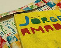 100 ANOS DE JORGE AMADO | Projeto gráfico de livro
