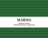 Marma Typeface Specimen