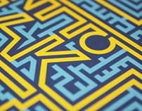 Escape - poster design