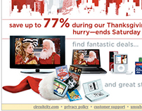 Circuit City Email Campaign