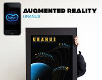 LAYAR: Augmented Reality. Uranus Poster