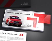 Lançamento Audi A3 Sportback