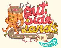 OutSide Lands T-shirt
