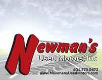 Newman's Used Motors Campaign