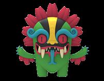 """Cielo Azteca"" Urban Toy Set"