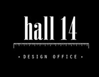 Hall14 Design Office Logo Design