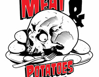 "STICKERS - For ""MEAT & POTATOES"" available Nov 6th"