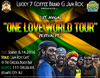 "Jam Roc :One Love World Tour"" - 2016"