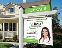 Vision Realty: Mock Brand Package