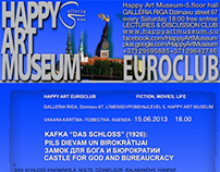 HAPPY ART EUROCLUB discuss @GALLERIA RIGA 7.LEVEL/ HAM