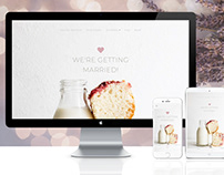 Milk&Cake - Bootstrap 4 Wedding Theme