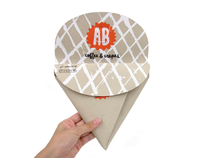 A.B.'s Crepes Packaging