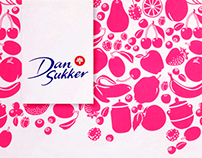 DanSukker Jam & Jelly sugar packaging