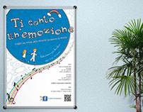 Ti canto un'emozione | Poster  for a Children Lab