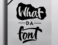 What da Font