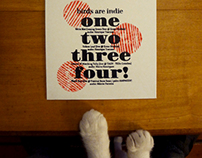 Birds Are Indie : One, Two, Three, Four EP