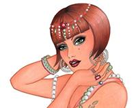 Final Art - Jewel Tutorial - Copic Marker