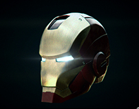 Iron man head lighting challenge