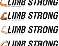 Climb Strong Concept