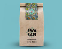 Ewa Safi Moroccan restaurant branding