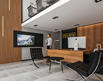 Oğuz Mimari Tasarım Office Interior Design