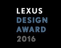 Design Award 2016: Lexus.