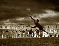 Pick-up Game at the Colosseum
