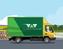 Lorry illustration