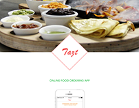 Tazt - Online Food Ordering App