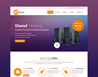 BD Host - Domain/Hosting Reseller PSD Template