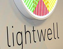 Lightwell US headquarters interior branding