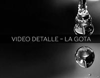 Análisis Arqu. y Belleza/2016-1: Detalle, La gota