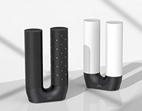 The Candle _ Salt and pepper shakers