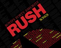 B40 – Long List Poster