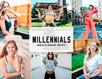 Free Millennials Mobile & Desktop Lightroom Presets