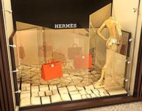HERMÉS - VITRINE CONCEITO