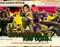 Double Feature BioHazard 3 Dino Crisis 2