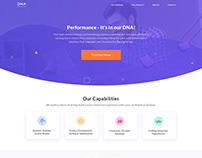 Digital Marketing Agency's Website