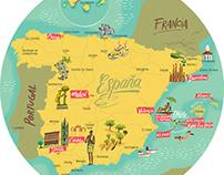 Palladium Resorts maps
